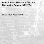 Inspection Required-9 Saint Michael's Terrace, Alexandra Palace, N22 7SJ