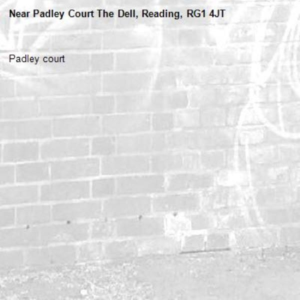 Padley court -Padley Court The Dell, Reading, RG1 4JT
