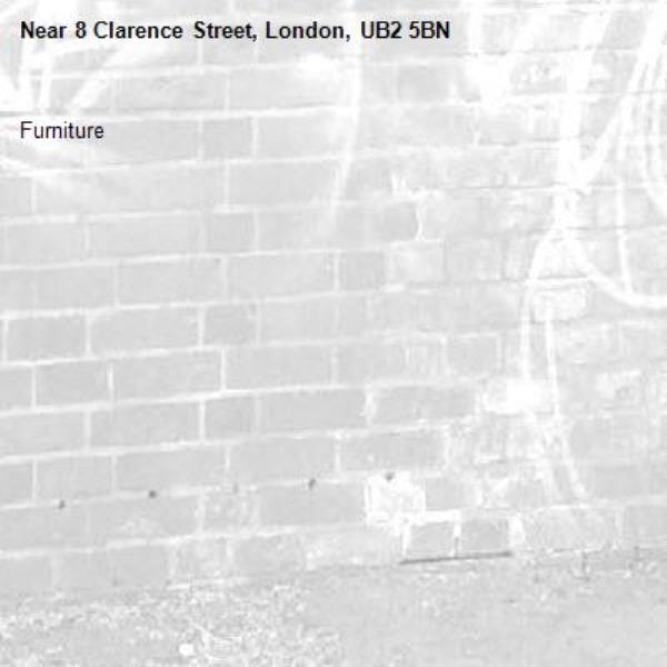 Furniture -8 Clarence Street, London, UB2 5BN