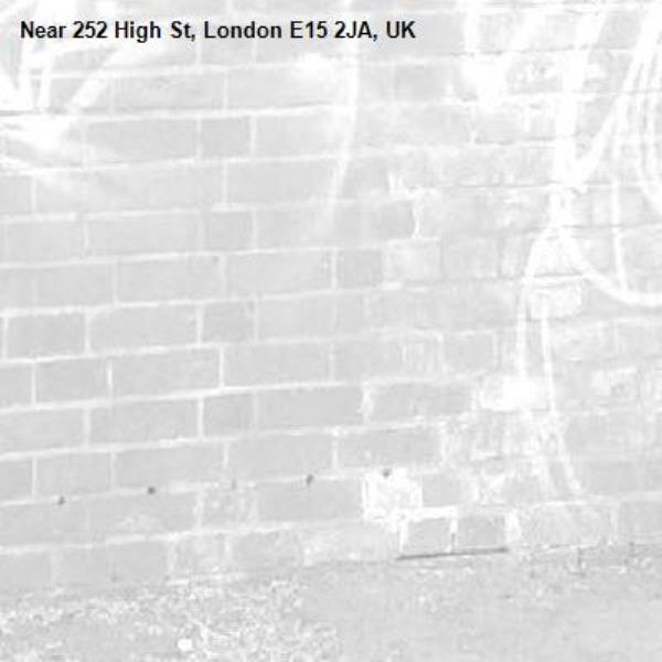 -252 High St, London E15 2JA, UK