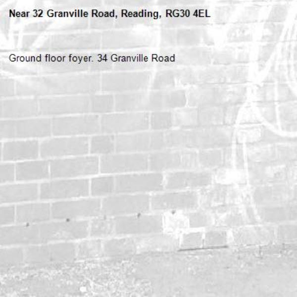 Ground floor foyer. 34 Granville Road -32 Granville Road, Reading, RG30 4EL