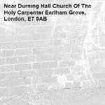 -Durning Hall Church Of The Holy Carpenter Earlham Grove, London, E7 9AB
