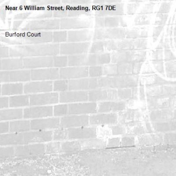 Burford Court -6 William Street, Reading, RG1 7DE