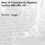 Shutter  image 1-36 Frankham St, Deptford, London SE8 4RH, UK