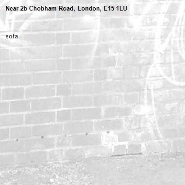 sofa-2b Chobham Road, London, E15 1LU