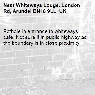 Whiteways lodge car park