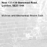 Mobiles and Mechanical Broom Sebt-137-139 Stanstead Road, London, SE23 1HH