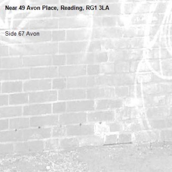 Side 67 Avon -49 Avon Place, Reading, RG1 3LA