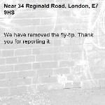 We have removed the fly-tip. Thank you for reporting it.-34 Reginald Road, London, E7 9HS