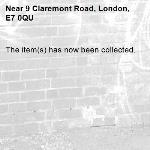 The item(s) has now been collected.-9 Claremont Road, London, E7 0QU