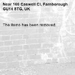 The items has been removed.-166 Caswell Cl, Farnborough GU14 8TG, UK