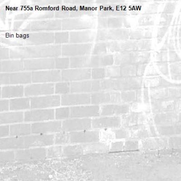 Bin bags-755a Romford Road, Manor Park, E12 5AW