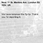 We have removed the fly-tip. Thank you for reporting it.-11 St. Martins Ave, London E6 3DU, UK