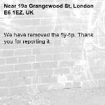 We have removed the fly-tip. Thank you for reporting it.-19a Grangewood St, London E6 1EZ, UK
