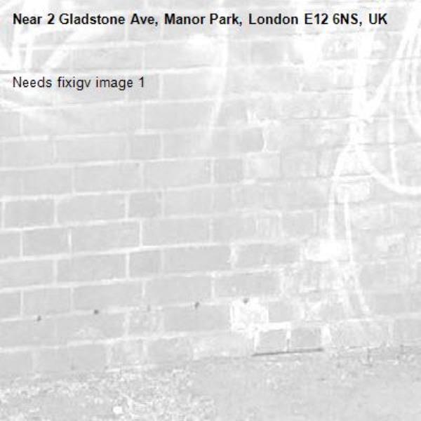 Needs fixigv image 1-2 Gladstone Ave, Manor Park, London E12 6NS, UK