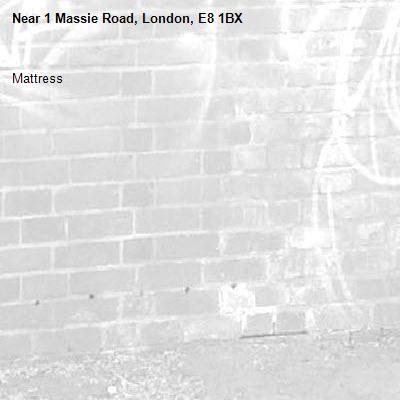 Mattress-1 Massie Road, London, E8 1BX