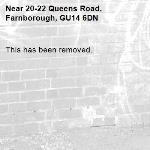 This has been removed. -20-22 Queens Road, Farnborough, GU14 6DN
