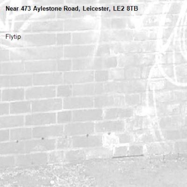 Flytip -473 Aylestone Road, Leicester, LE2 8TB
