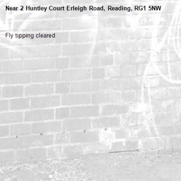 Fly tipping cleared -2 Huntley Court Erleigh Road, Reading, RG1 5NW