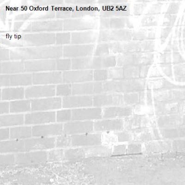 fly tip-50 Oxford Terrace, London, UB2 5AZ
