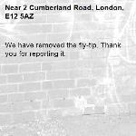 We have removed the fly-tip. Thank you for reporting it.-2 Cumberland Road, London, E12 5AZ