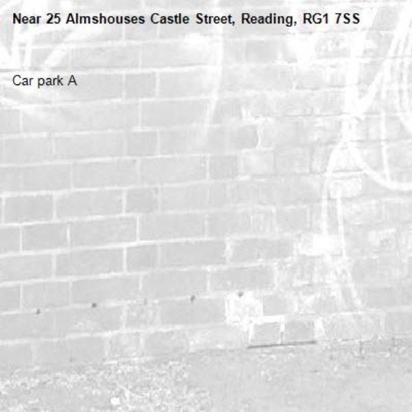 Car park A-25 Almshouses Castle Street, Reading, RG1 7SS
