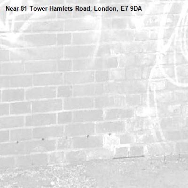 -81 Tower Hamlets Road, London, E7 9DA