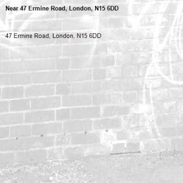 47 Ermine Road, London, N15 6DD-47 Ermine Road, London, N15 6DD