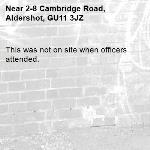 This was not on site when officers attended.-2-8 Cambridge Road, Aldershot, GU11 3JZ