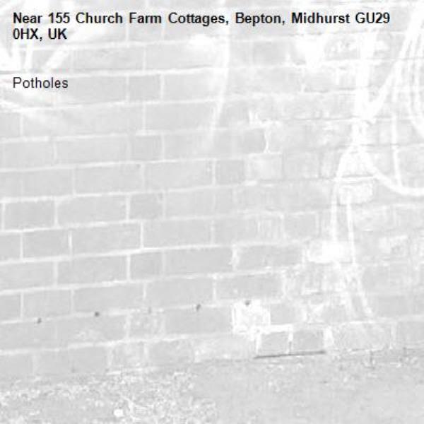 Potholes -155 Church Farm Cottages, Bepton, Midhurst GU29 0HX, UK