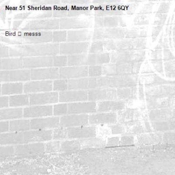Bird 🦅 messs-51 Sheridan Road, Manor Park, E12 6QY