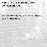 We have removed the fly-tip. Thank you for reporting it.-37a-37b Plashet Grove, London, E6 1AD