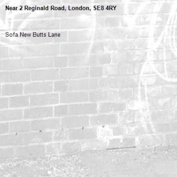 Sofa New Butts Lane -2 Reginald Road, London, SE8 4RY