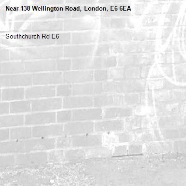 Southchurch Rd E6 -138 Wellington Road, London, E6 6EA