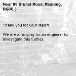 Thank you for your report. 