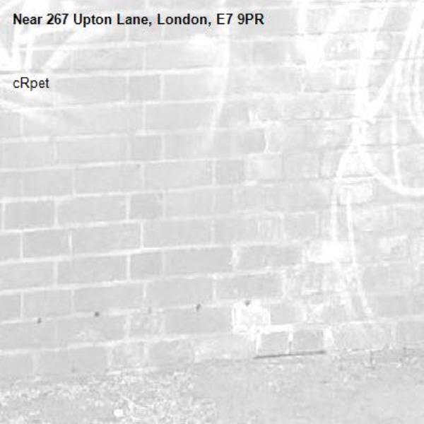 cRpet-267 Upton Lane, London, E7 9PR