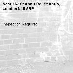 Inspection Required-162 St Ann's Rd, St Ann's, London N15 5RP
