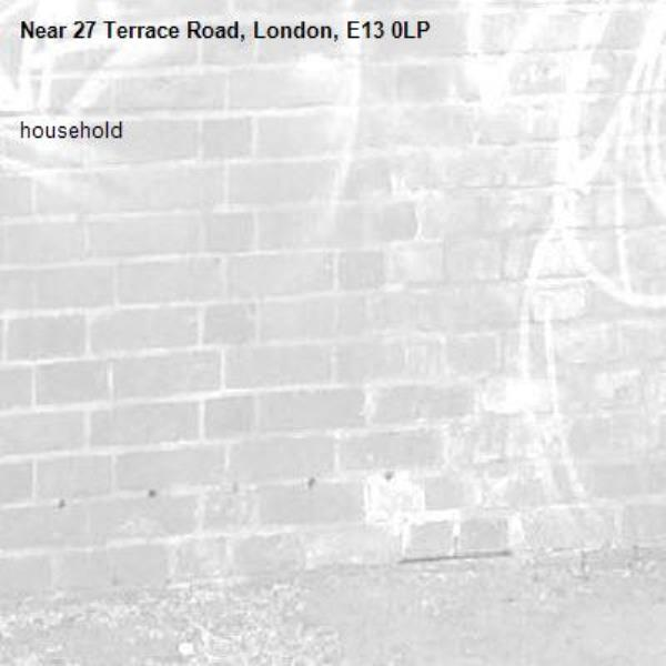 household -27 Terrace Road, London, E13 0LP