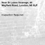 Inspection Required-St Lukes Vicarage, 46 Mayfield Road, London, N8 9LP