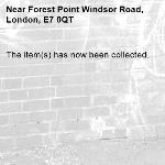 The item(s) has now been collected.-Forest Point Windsor Road, London, E7 0QT