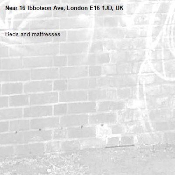 Beds and mattresses-16 Ibbotson Ave, London E16 1JD, UK