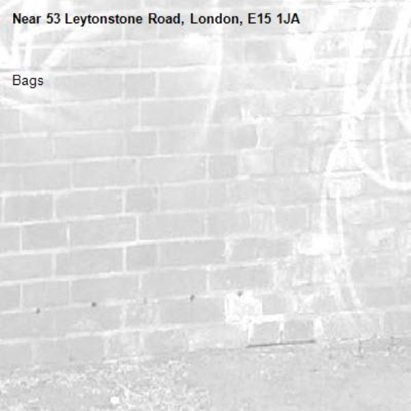 Bags-53 Leytonstone Road, London, E15 1JA