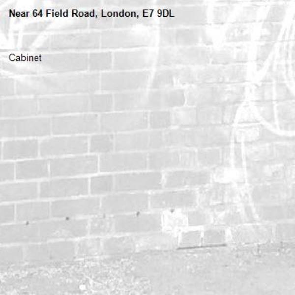 Cabinet -64 Field Road, London, E7 9DL