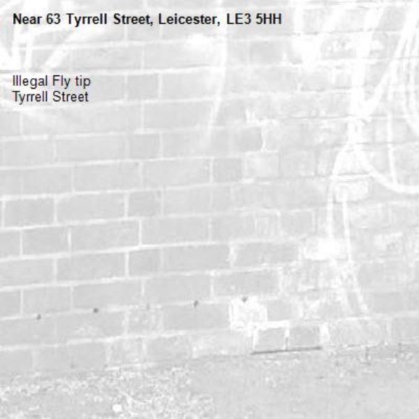 absolute joke. ilkegal fly tip. 63 tyrrell st.-63 Tyrrell Street, Leicester, LE3 5HH