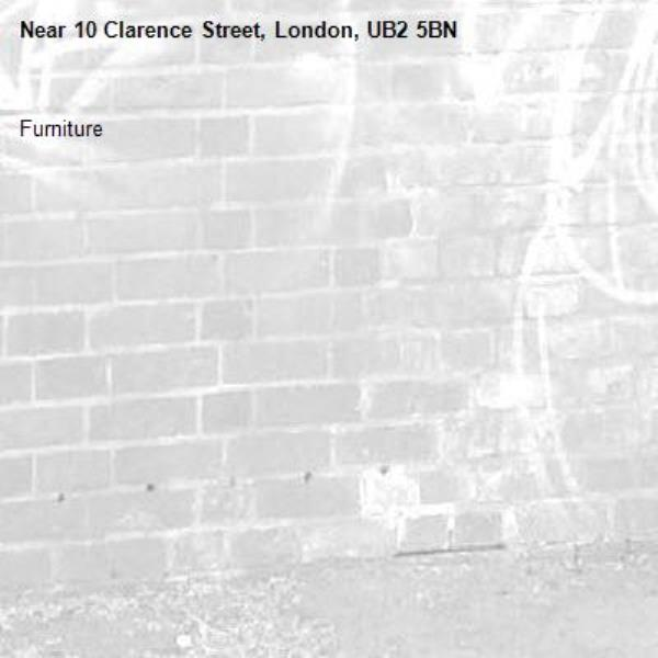 Furniture-10 Clarence Street, London, UB2 5BN