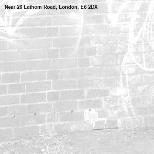 . -26 Lathom Road, London, E6 2DX