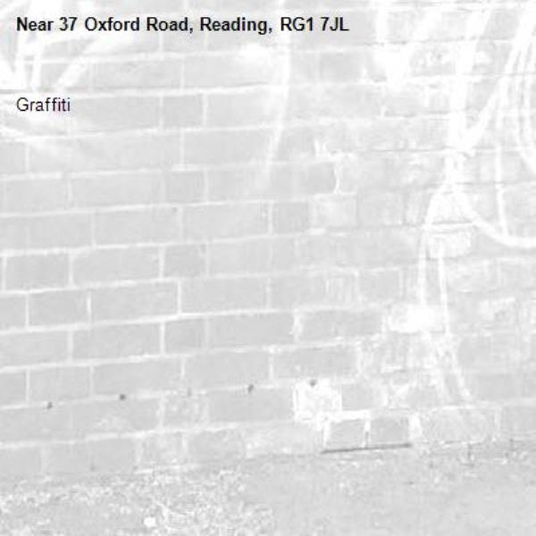 Graffiti -37 Oxford Road, Reading, RG1 7JL