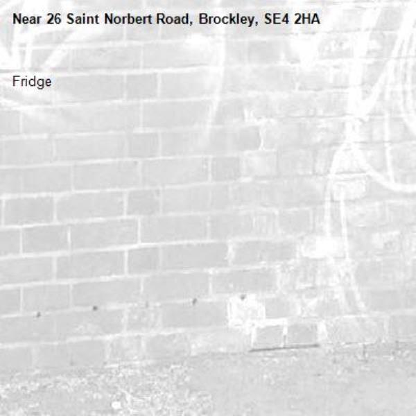 Fridge -26 Saint Norbert Road, Brockley, SE4 2HA