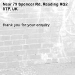 thank you for your enquiry -79 Spencer Rd, Reading RG2 8TP, UK
