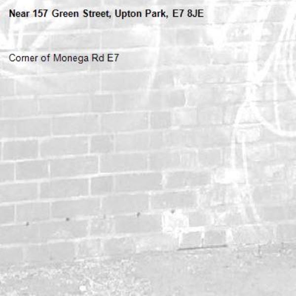 Corner of Monega Rd E7-157 Green Street, Upton Park, E7 8JE